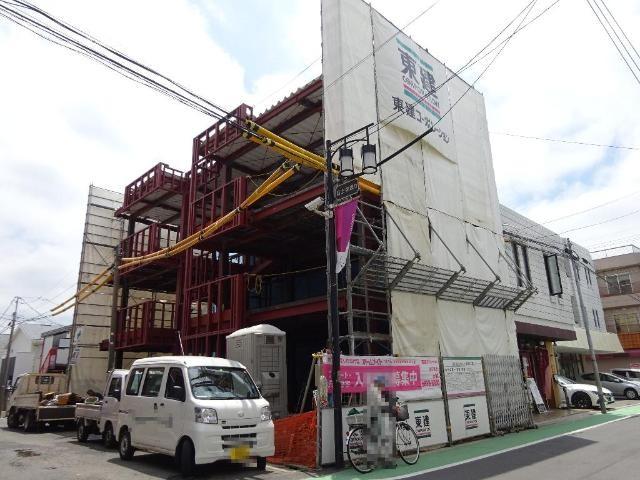 仮称)上石神井1丁目貸店舗マンション新築工事の外観