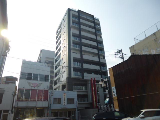 スクエア・アパートメントの外観