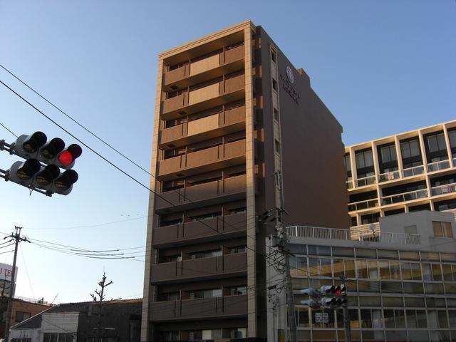 ライジングコート名古屋駅南の外観