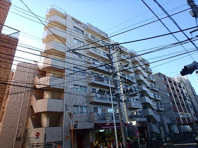 ルックハイツ北新宿壱番館の外観