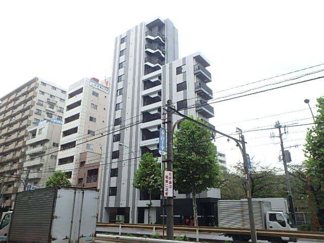 プロスタイルウェルス西早稲田の外観