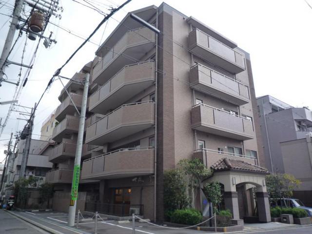 クラウンハイム西ノ京円町の外観