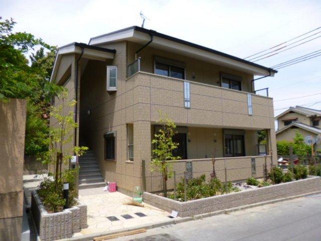(仮)長岡京泉ガ丘新築アパートの外観