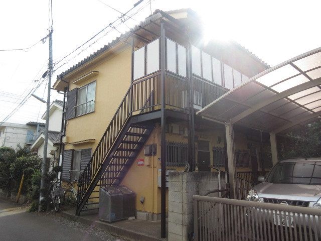 第二藤村荘の外観