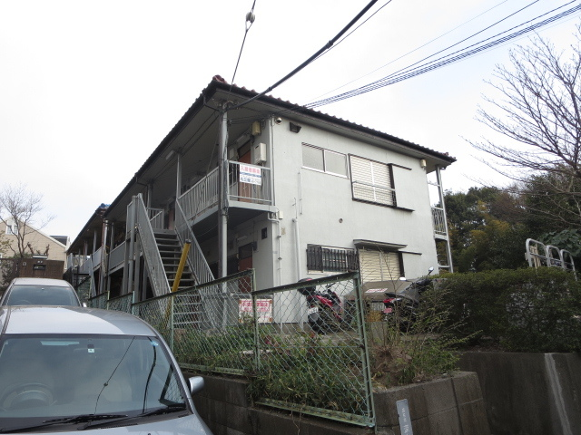 第六田中荘の外観