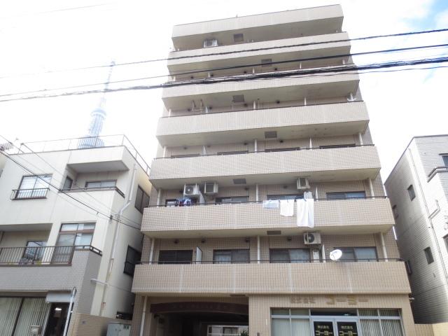 スカイマンション墨田の外観