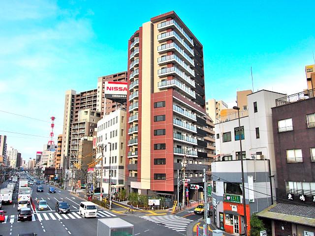 コンフォリア上野入谷の外観