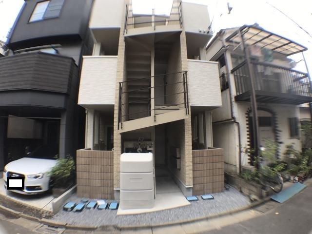 リバーサイドコート墨田の外観