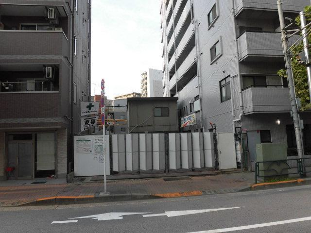 仮称)千束新築店舗付マンションの外観