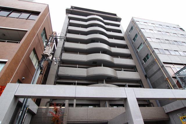 広島畳材6ビルの外観