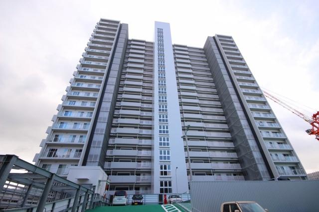 広島ガーデンシティ白島城北イーストタワーの外観