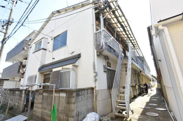 矢田四丁目文化住宅の外観